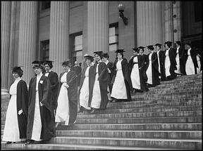 women-graduating