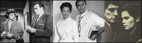 Della Street, secretary, Perry Mason - Jessie Brewer, nurse to Dr. Hardy, General Hospital – Victoria Winters, vampire victim to Barnabas Collins, Dark Shadows