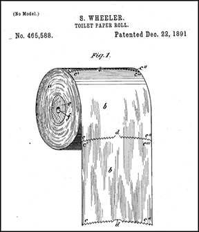 Toilet-paper-roll-patent
