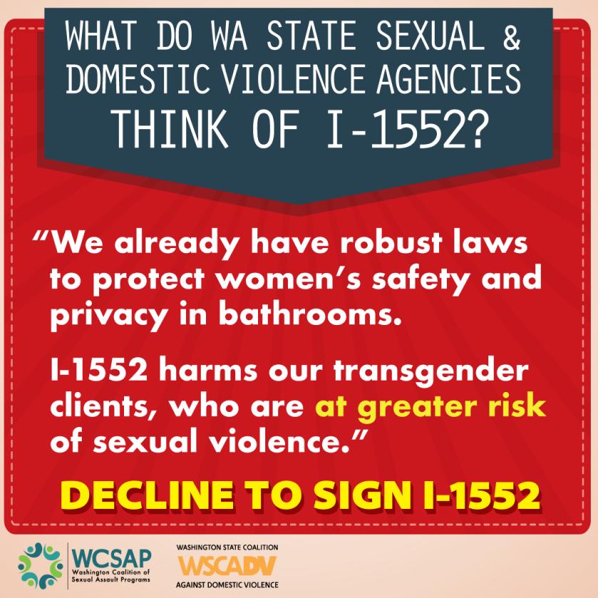 Decline to sign I-1552